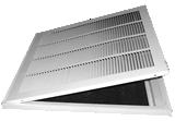 Photo 5 - Lanced Filter Ceiling Returns.