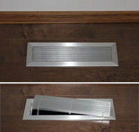 Residential Architectural Floor Grilles & Registers