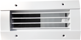 Photo 1 - Spiral Duct Grilles.