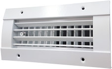 Photo 2 - Spiral Duct Grilles.